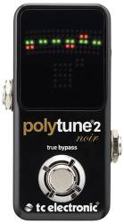 Tc Electronic - Tc Electronic Polytune 2 Noir True Baypass Pedal