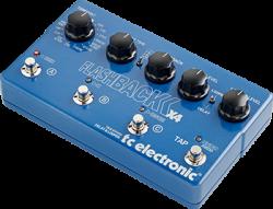 TC Electronic - TC ELECTRONIC TonePrint FlashBack X4 Delay - TonePrint özellikli Delay / Looper pedalı