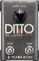 TC Helicon - TC HELICON Ditto Mic Looper
