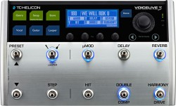 TC Helicon - TC HELICON VoiceLive III - Voice-harmony, TC Gitar/Vokal Effect, Looper