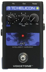 TC Helicon - TC HELICON VoiceTone Single H1 - Vokal Harmony Efekt Pedalı
