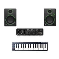 InfoMusic Stüdyo Paketleri - UMC-202HD Ekonomik Prodüksyon Paketi