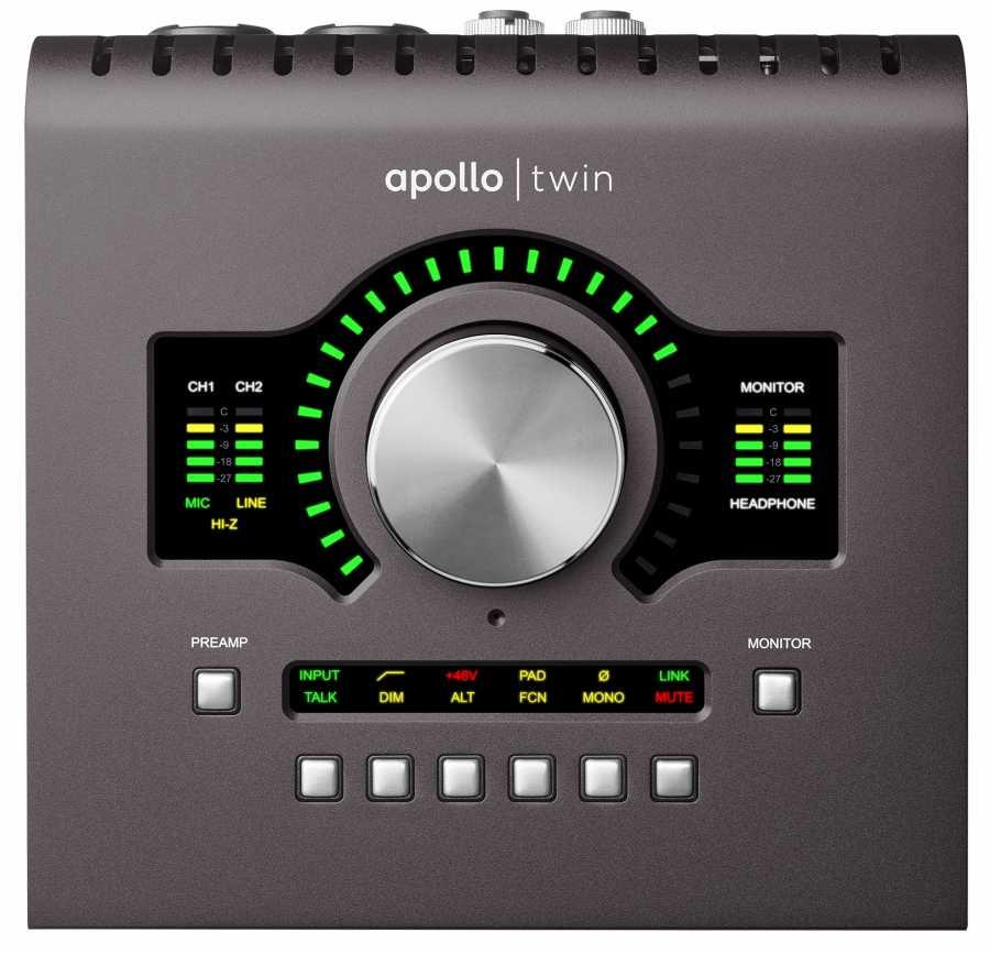 UNIVERSAL AUDIO Apollo Twin Quad MKII