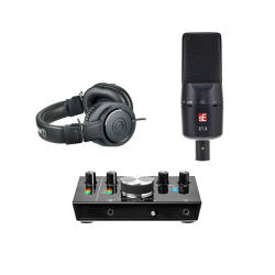 InfoMusic Stüdyo Paketleri - InfoMusic M-Audio Vokal&Enstruman Kayıt Paketi