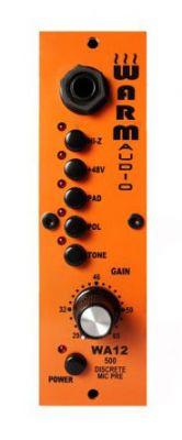 WARM AUDIO WA12 - 500 Preamp - 500 serisi için Mikrofon Preamfisi