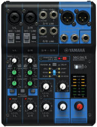Yamaha - Yamaha MG06 X, 6 Kanal Deck Mikser