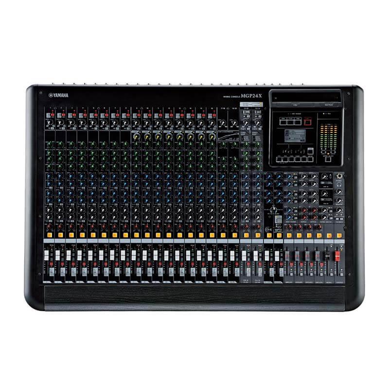 Yamaha mgp24x 24 kanal analog deck mikser en iyi for Yamaha mgp24x 24