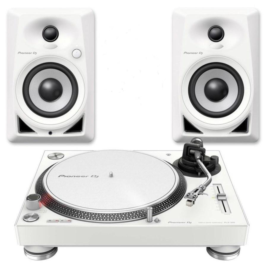 Pioneer DJ PLX 500 & DM 40 (Limitli Üretim Beyaz Paket)