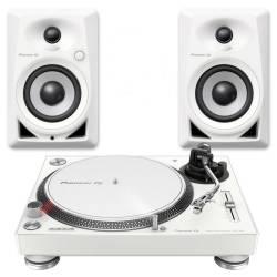 Pioneer DJ - Pioneer DJ PLX 500 & DM 40 (Limitli Üretim Beyaz Paket)